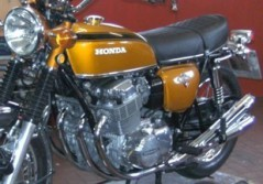 Diashow Honda, Motorrad Scherer
