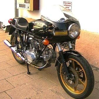 Motorradrestaurierung, Motorrad Scherer