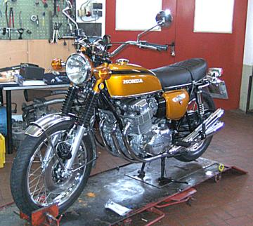 Motorrad Scherer, Honda
