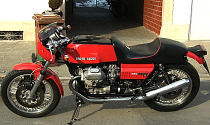 Motorrad Scherer, Moto Guzzi