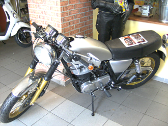 Yamaha, Motorrad Scherer