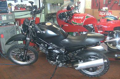 Motorrad Scherer, Monster