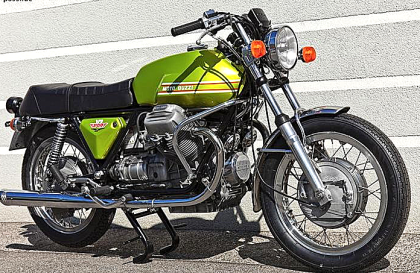 Moto Guzzi, Motorrad Scherer