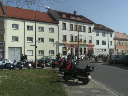 Oldtimertreffen, Motorrad Scherer
