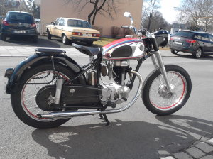 Horex Regina, Motorrad Scherer